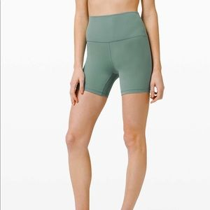 Lululemon Align Short 6 inches Tidewater Teal